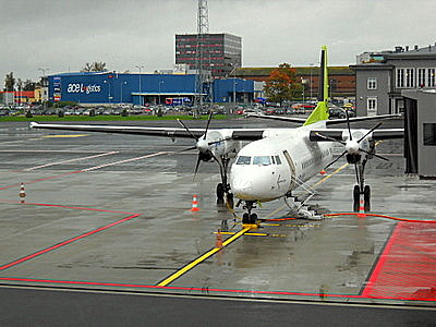 Air Baltic Tallinnan lentoasema