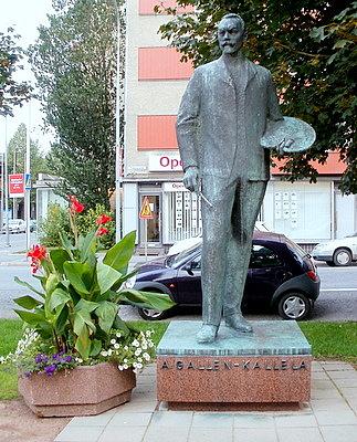 Akseli Gallen-Kallela patsas Pori