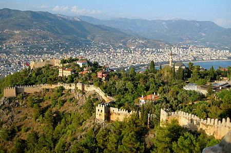 Alanyan linna Turkki