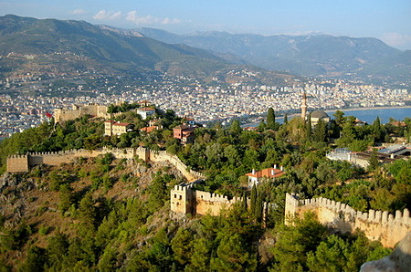 Alanya castle Turkey