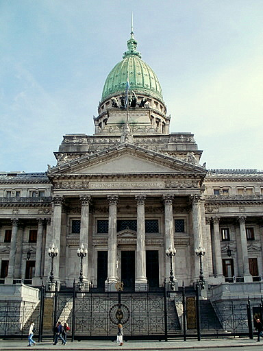 Argentine Congress palace Buenos Aires