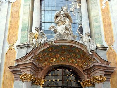 Asamkirche entrance Munich Germany