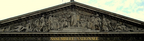 Assemblée Nationale Palais Bourbon Paris France