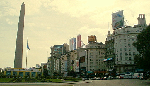 Avenida 9 de Julio Avenida Corrientes Buenos Aires Argentina