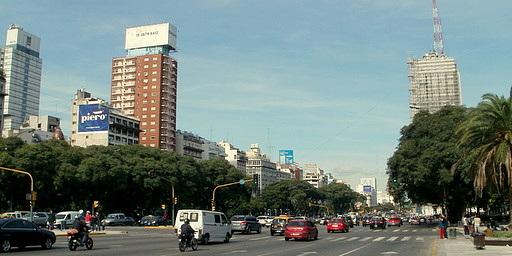 Avenida 9 de Julio Avenida de Mayo Buenos Aires