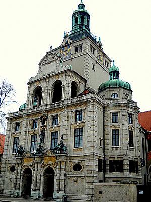 Baijerin kansallismuseo Munchen Saksa