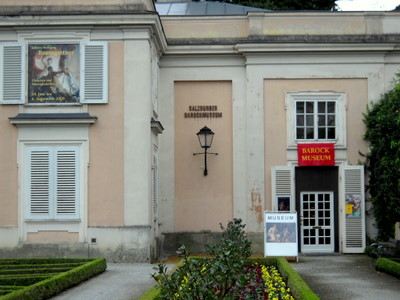 Baroque museum Mirabell palace Salzburg Austria