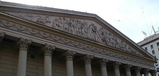 Bas relief Metropolitana Cathedral Buenos Aires