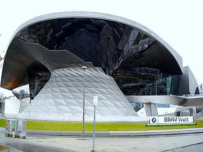 BMW Welt Munich Germany