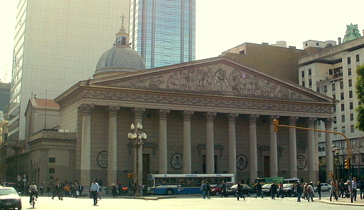 Metropolitana cathedral of Buenos Aires