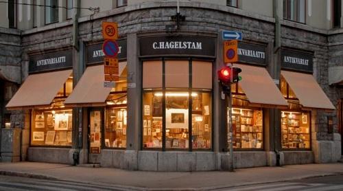 C. Hagelstam antikvaarinen kirjakauppa