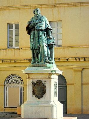 Cardinal Fesch statue Ajaccio France