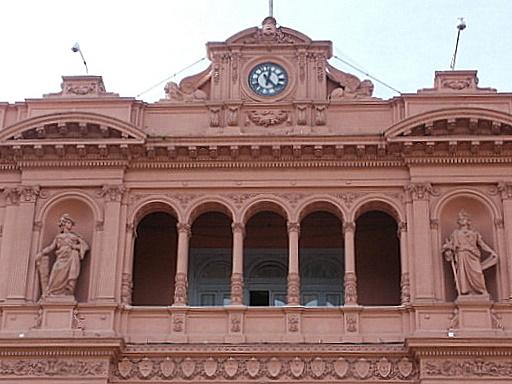 Casa Rosada Italianate style detail Buenos Aires
