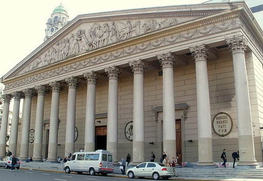 Cathedral Metropolitana in Buenos Aires