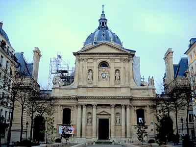 Chapelle de la Sorbonne in Paris France