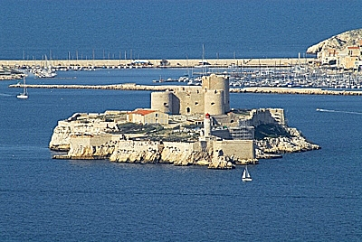 Chateau d'If in Marseille France
