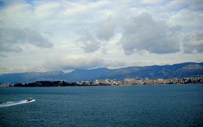 Ranskan Cote d'Azur rannikko