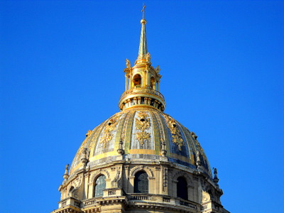 Dome Les Invalides Paris France