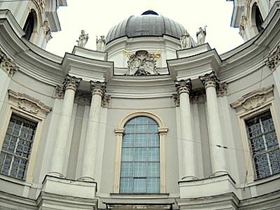 Dreifaltigkeitskirche Salzburg Austria facade