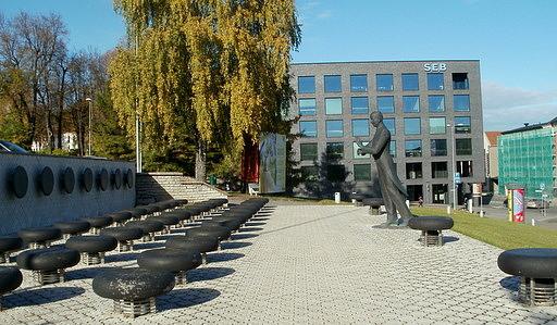 Eduard Tubin monumentti Tartto