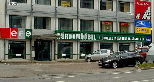 EFG Buroomööbel Tallinna