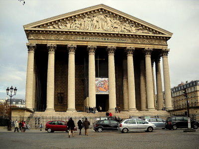 Eglise de la Madeleine Paris France