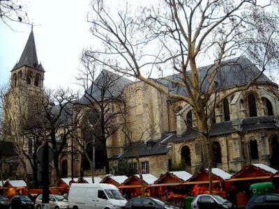 Eglise Saint Germain des Pres Paris France