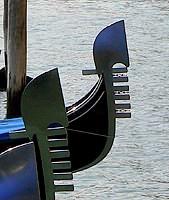 Ferro di Prua Gondola Venice Italy