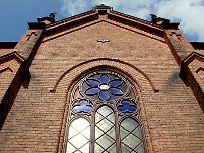 Finlaysonin kirkko julkisivu Tampere