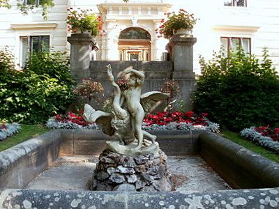 Finlaysonin palatsi suihkulähde Tampere