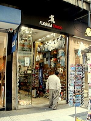Florida Tango shop Buenos Aires