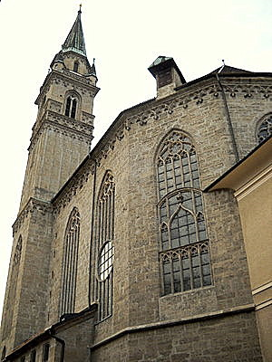 Franziskanerkirche Salzburg Austria