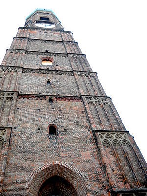 Frauenkirche tower Munich Germany