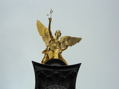 Friedensengel - Freedom Angel Munich Germany