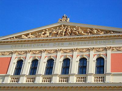 Gesellschaft der Musikfreunde Musikverein Vienna Austria