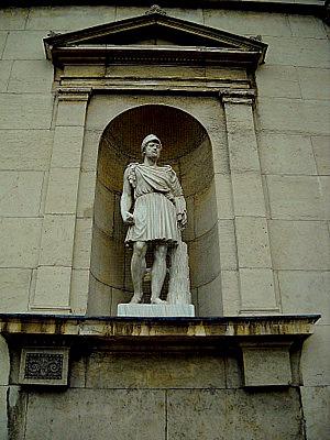Glyptothek statue Königsplatz Munich Germany