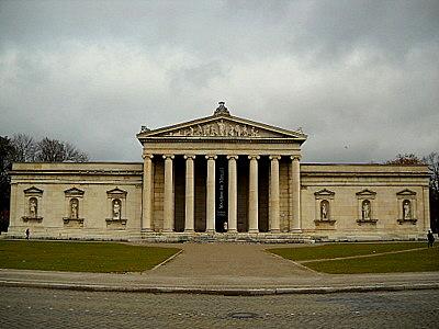 Glyptothek Königsplatz Munich Germany