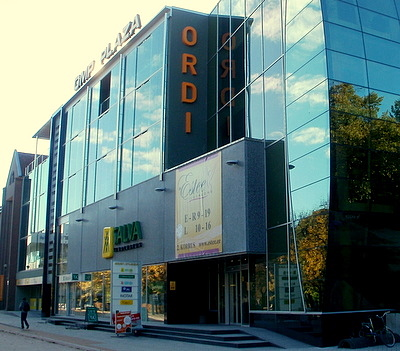 GMP Plaza kauppakeskus Tartto