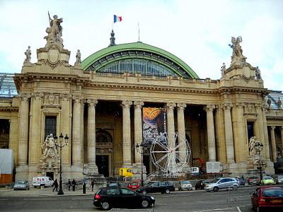 Grand Palais entrance Paris France