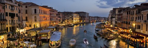 Grande Canale Venetsia iltakuva