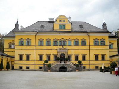 Hellbrunn palace main building Salzburg  Austria