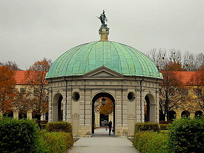 Residenz Hofgarten Diana temple Munich Germany