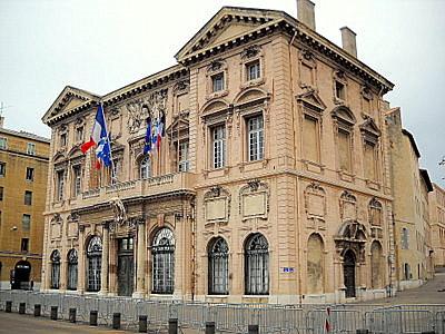 Hotel de Ville Marseille France
