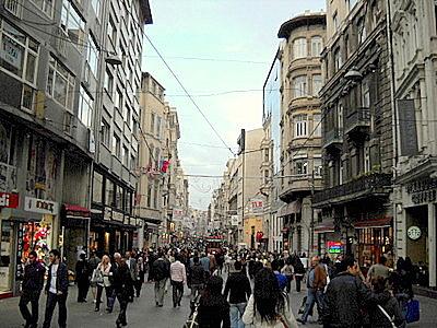 Istiklal Caddesi Istanbul Turkey