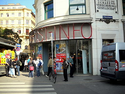 Austria tourism bureau office in Vienna