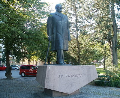 J. K. Paasikivi patsas Lahti