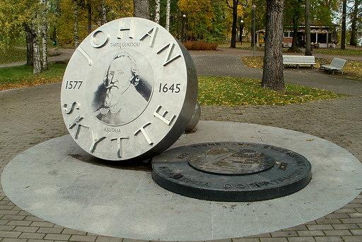 Johan Skytte monumentti Tartto