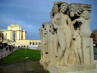 Joie de Vivre Palais de Chaillot Paris France