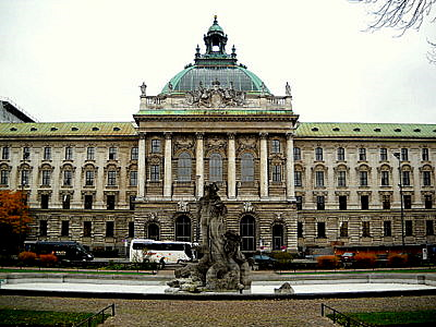 Justizpalast Munich Germany