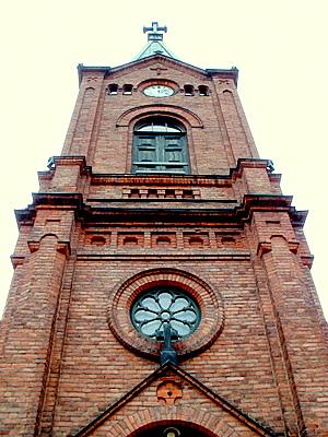 Jyväskylän kaupunginkirkon torni
